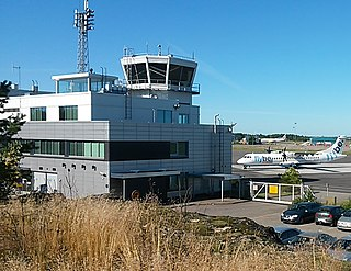 airport in Turku, Finland