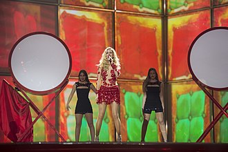 Portugal in the Eurovision Song Contest 2014 - Suzy at the first semi-final dress rehearsal