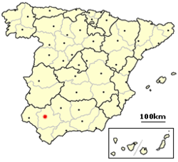 ES Sevilla, location map.png
