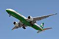 EVA Airways, Boeing 777-35E(ER), B-16705 - LAX (18187068194).jpg