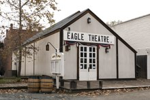 Eagle Theatre in Old Sacramento, a 28-acre National Historic Landmark District and State Historic Park along the Sacramento River in California's capital city LCCN2013633902.tif