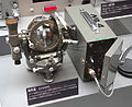 Earth inductor, Geographic Survey Institute (GSI) model - National Museum of Nature and Science, Tokyo - DSC07837.JPG