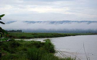East Rapti River - East Rapti River at early morning, at Sauraha