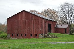 Barn on Vickerman Road