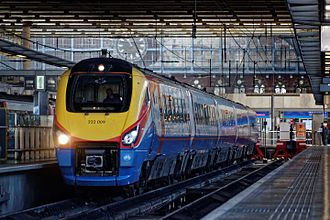 East Midlands Trains - A Class 222 Meridian at St Pancras in 2015