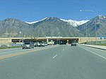 East at I-15 & SR-114 interchange, Provo, Utah, May 16.jpg