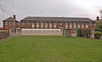 Anlaby Common - Eastfield school, est. 1930, expanded 1936 (2008)