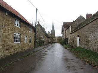 Easton Maudit - Image: Easton Maudit. Lane leading up to St Peter & St Paul's Church geograph 4756010 by Colin Park