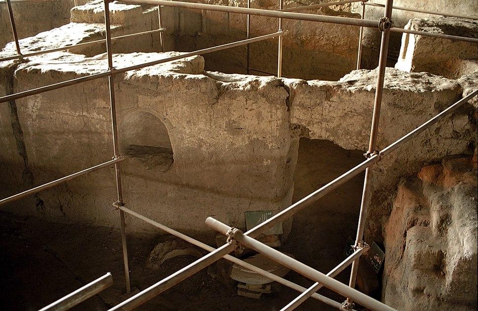 Ecbatane - excavated house