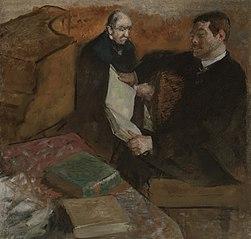 Pagans et le père de Degas