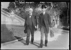Edgar T. Brackett - Brackett and Hiram R. Wood circa 1913