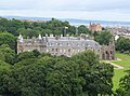 Edinburgh Holyrood Palace from Holyrood Park 04.JPG
