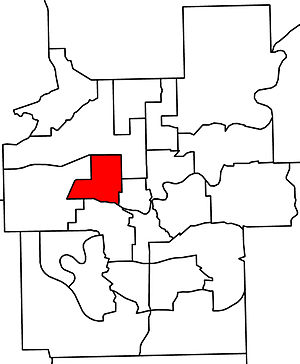 Edmonton-Glenora - 2010 boundaries