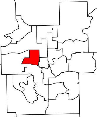 Edmonton-Glenora - 2010 boundaries