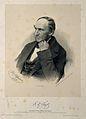 Eduard Fenzl. Lithograph by R. Hoffman, 1856, after F. Küss. Wellcome V0001886.jpg