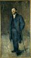 Edvard Munch Portrait of Karl Jensen-Hjell 1885.png