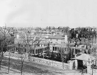 Edward Francis Searles -  the Searles Estate in Methuen circa 1890