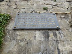 Photo of Stone plaque number 7621