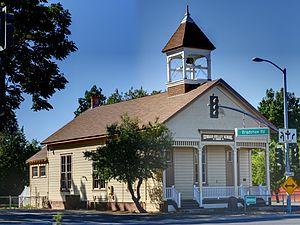 Brighton School (Sacramento, California) - Image: Edward Kelley School (formerly Brighton School) HDR