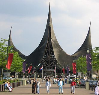 Efteling - The House of the Five Senses, or the entrance to the Efteling