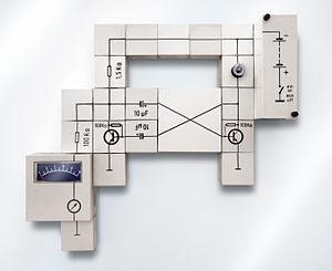 Raytheon Lectron - Circuit using Lectron blocks