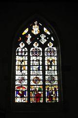 Baie 5 de l'église Saint-Ouen des Iffs