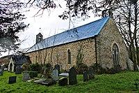Eglwys Sant Tydecho, Cemais, St Tydecho's Church, Cemais, Powys 15.JPG