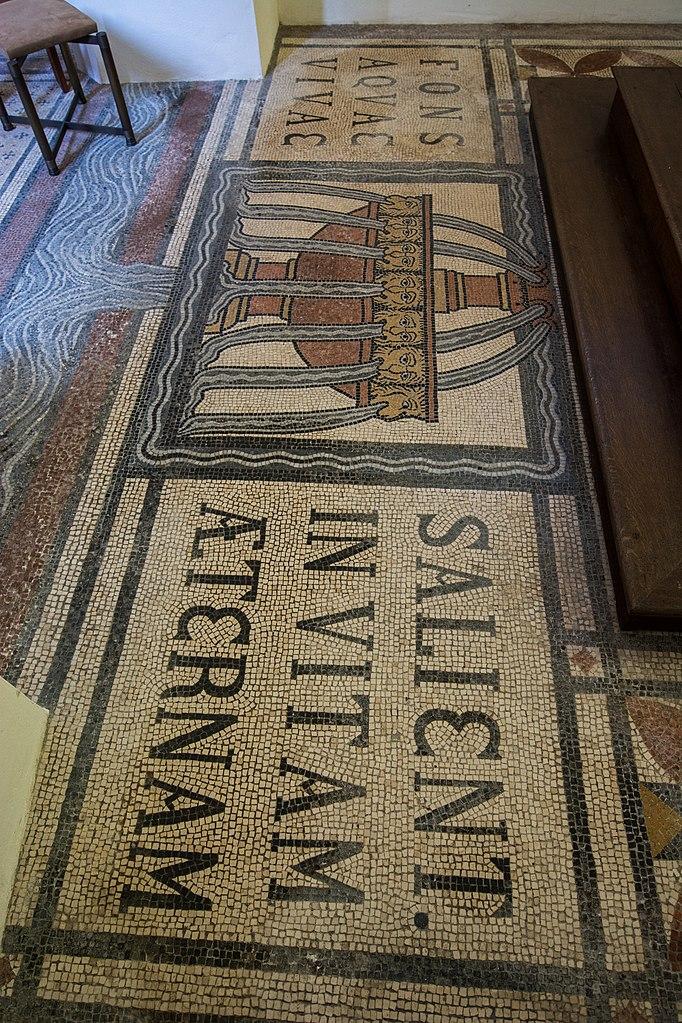 terrazzoboden fileehemalige johanniterordenskirche st leonhard regensburg leonhards gasse 1 d 3 62 000 1027 18 altarraum mit bodenmosaikjpg aufarbeiten und pflegen