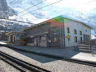 Eigergletscher railway station