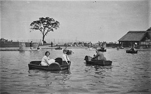 Eirias Park - Eirias Park in 1935