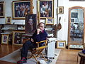 El pintor en su atelier en Montevideo.jpg