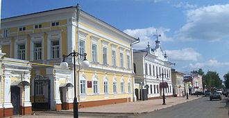 Yelabuga - Kazanskaya Street in Yelabuga