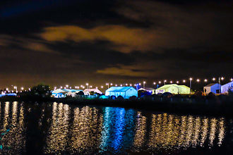 Electromagnetic Field (festival) - Electromagnetic Field 2014 at Night