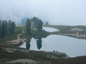 Elfin lake and shelter.JPG