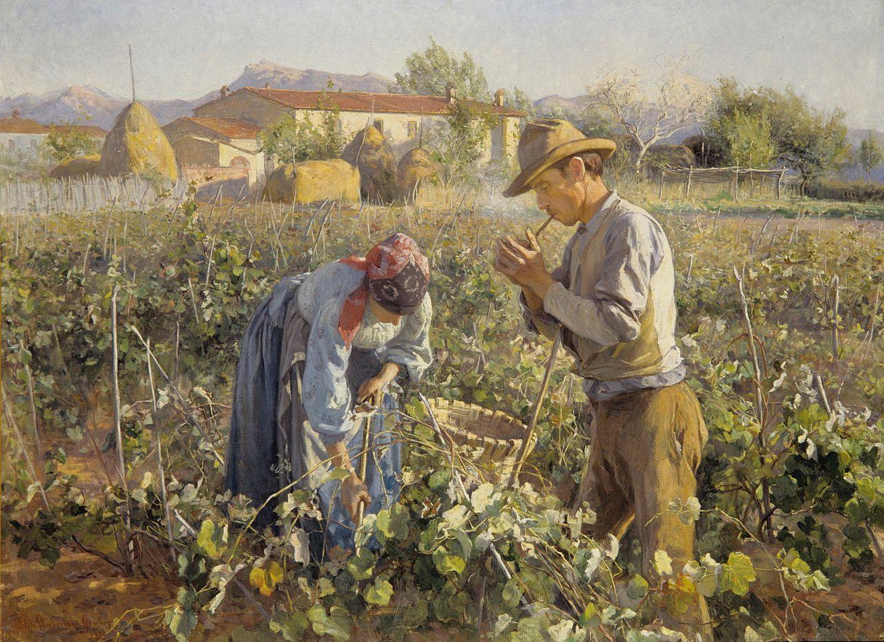 Elin Danielson-Gambogi - In the Vineyard (1898).jpg