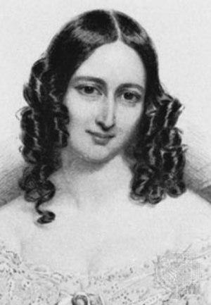 Ellen Kean - 1844 engraving of Ellen Kean