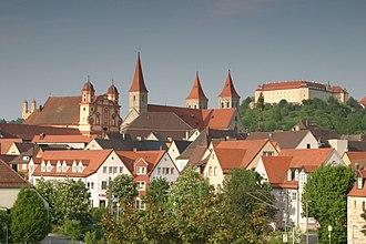 Ellwangen - Image: Ellwangen Stadtansicht