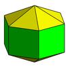 Elongated hexagonal dipyramid