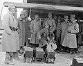 Első világháború, Kerpely Jenő gordonkaművész a fronton. Fortepan 25836.jpg