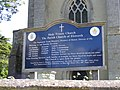 Elsworth Parish Church sign - geograph.org.uk - 1307835.jpg