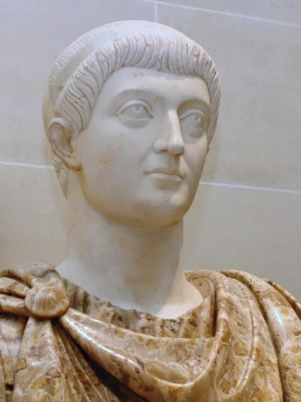 Emperor Constans Louvre Ma1021