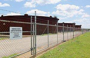 Cushing, Oklahoma - Image: Enbridge tank farm, Cushing Oklahoma