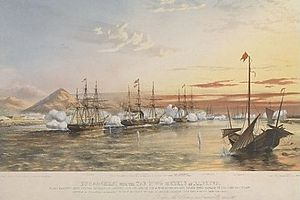 Algerine-class gunboat - Lee in action against the Taiping, 20 November 1858