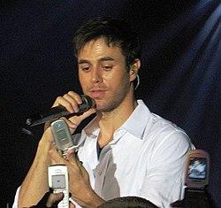 Enrique Iglesias 29 augusti 2007.