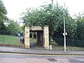 Entrance to the graveyard in Chatham - geograph.org.uk - 1526058.jpg