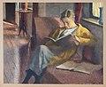 """Ernst Oppler """"Lesendes Mädchen"""" (in Niendorf), 1921 (verschollen).jpg"""