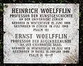 Ernst Wölfflin (1873–1960) Augenarzt. Grab auf dem Friedhof Wolfgottesacker, Basel.jpg