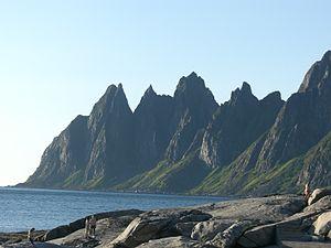 Berg, Norway - View of the Ersfjorden