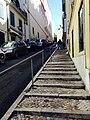 Escadas na Calçada do Carmo em 2014 (14399951941).jpg