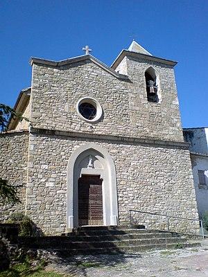 Camós - Santa Maria church, Camós